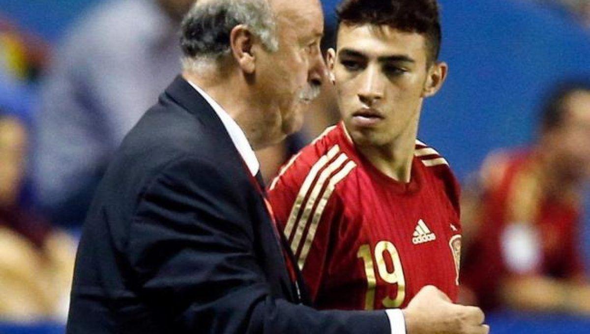 """Del Bosque se siente """"culpable"""" por la situación de Munir"""